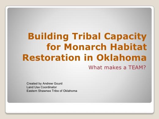 Oklahoma Restoration presentation